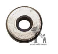 "H2B2 Heat Exchanger Zinc Anode with 3/8"" IPS Core (ZEP-2)"