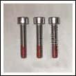 83/100mm Max Prop Zinc Anode Screw Set (Small)