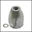 Wesmar Vortex Propeller Zinc Anode - Size B