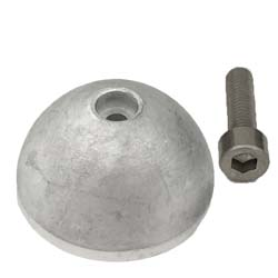 Aluminum Anode for Quick BTQ/BTR Thrusters with 140mm Tunnel (MMANBTQ14000)