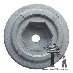 Zinc Anode for Quick Thrusters with 185mm Tunnel (MMANBTQ185)