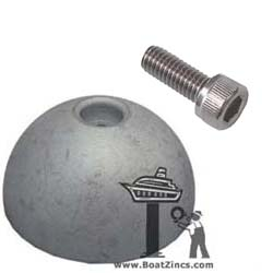 Aluminum Anode for Quick Thruster with 185mm Tunnel (MMANBTQ185AL)