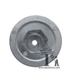 Aluminum Anode for Quick BTQ/BTR Thrusters with 250mm Tunnel (MMANBTQ250AL)