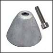 Quick 250mm Tunnel Thruster Aluminum Anode