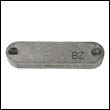 Zinc Anode for Quick BTR Retractable Thruster (TQR6015)