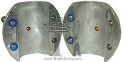 Shaft Zinc Anode Metric Product Specifications