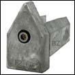 Spurs Line Cutter Aluminum Anode - Size F2-F3