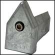 Spurs Line Cutter Zinc Anode - Size F2-F3