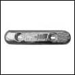 ZHC-15H Hull Zinc Anode (ZHC-15 Heavy)